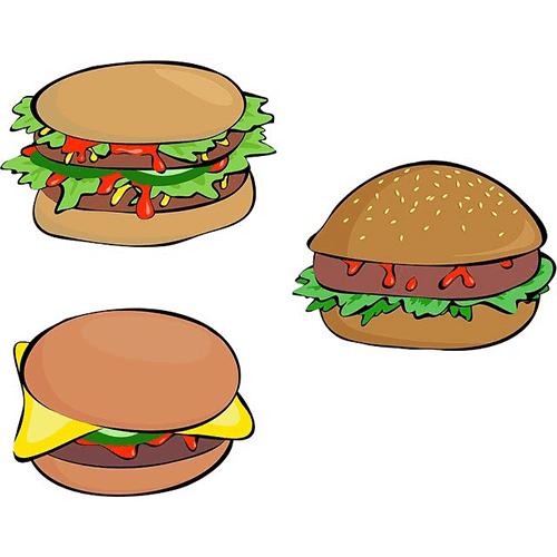 Péché mignon le hamburger