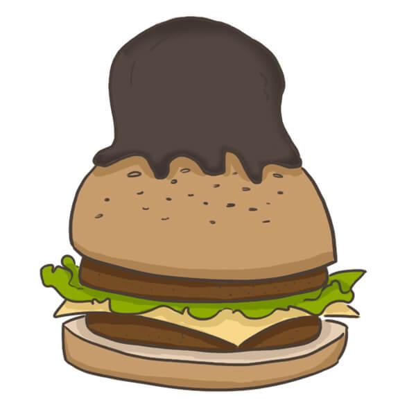 Péché mignon le cheeseburger