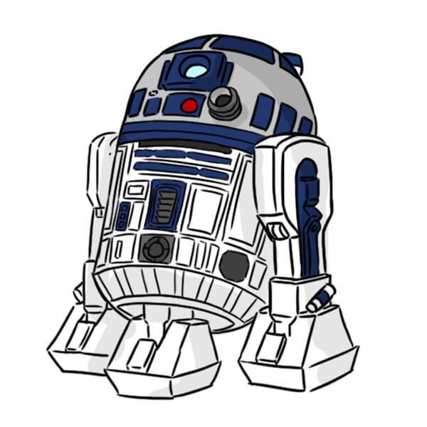 Héros préféré R2-D2