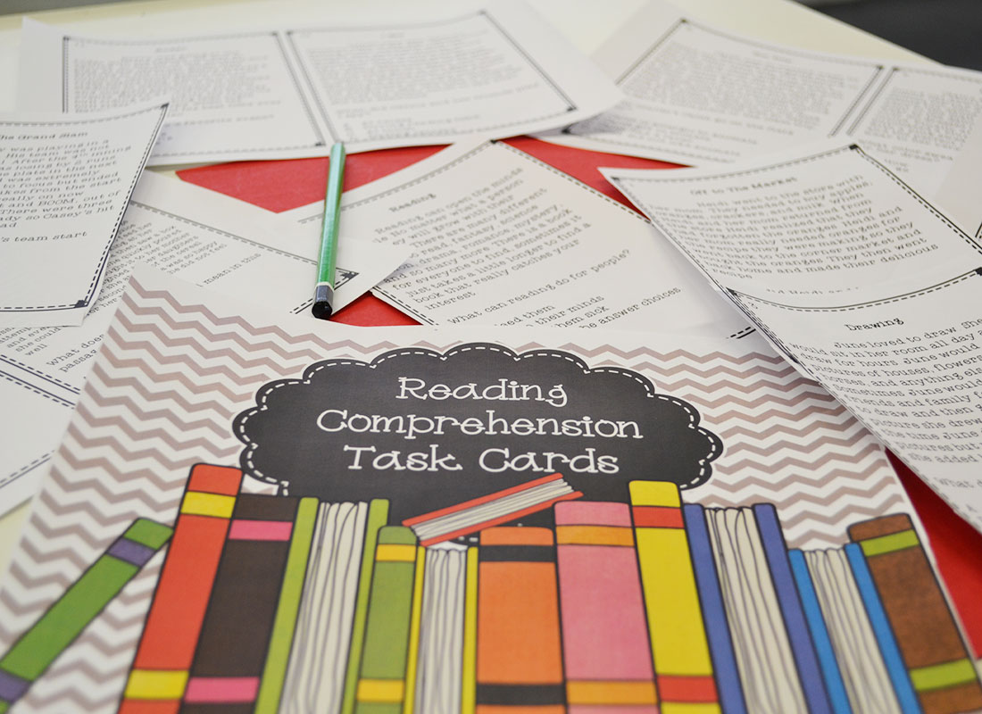 Using task cards to build reading comprehension skills - Beneylu Pssst