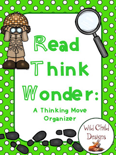This is the Read-Think-Wonder strategy