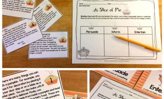 Thanksgiving Math and Reading Centers – Keep Students Learning Through the Holidays!