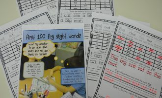 Sight Word Activities for K -2nd Grade