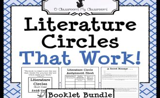 Literature Circles (a.k.a. Book Clubs) That Work!