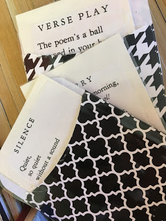 The mystery of how the poem is connected