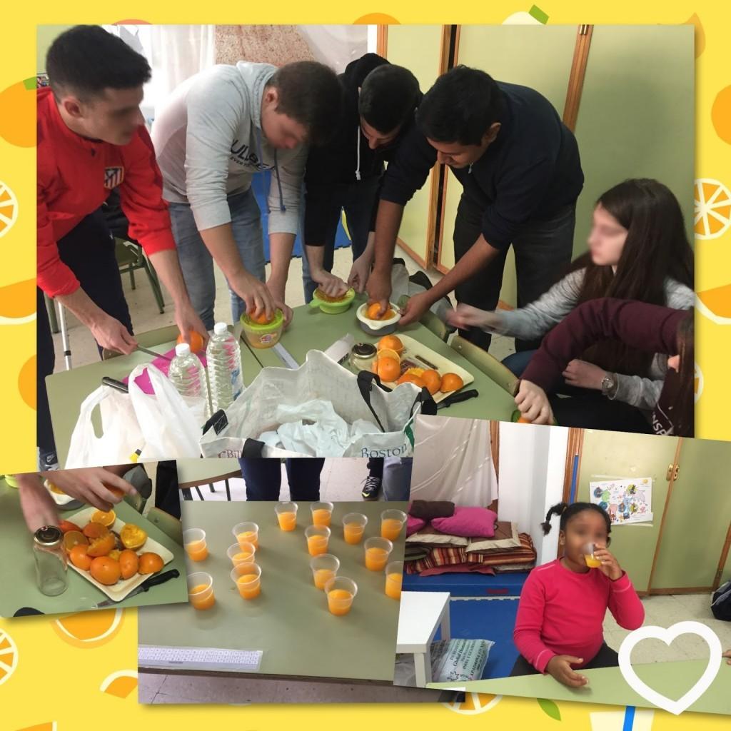 ¿Una actividad entre varias clases sobre la alimentación saludable? ¡Contádnoslo en vuestro blog de clase!