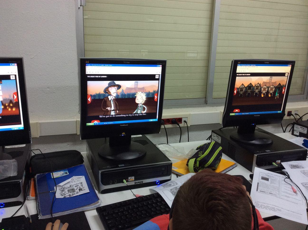 los alumnos no lo perciben como algo aburrido, sino como un juego