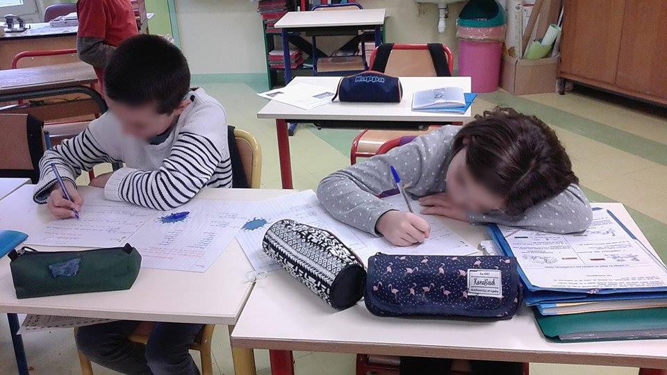 On peut transformer ce petit exercice d'écriture individuel en un exercice collectif