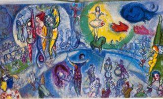 Dessinez le cirque avec Chagall