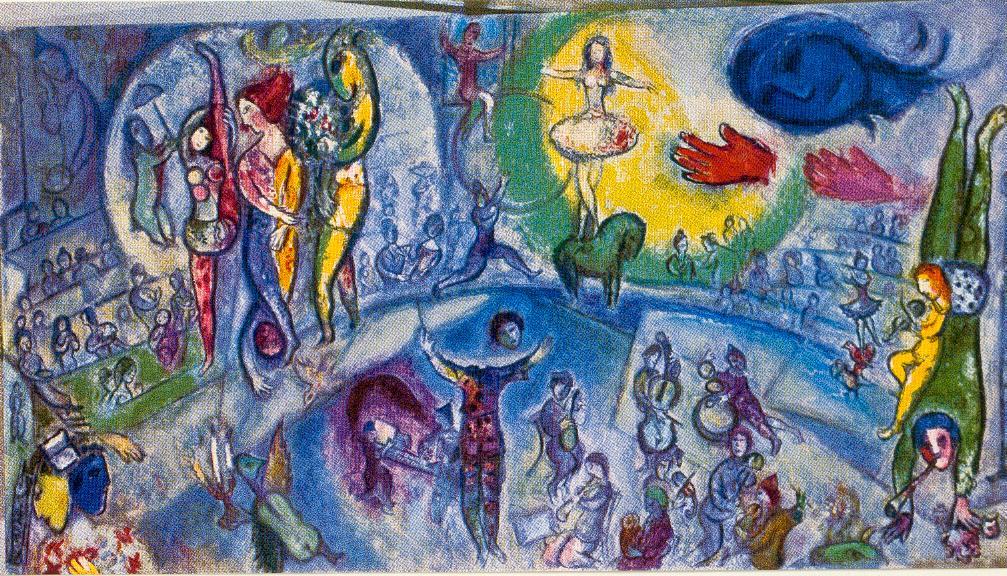 Dessinez Le Cirque Avec Chagall Beneylu Pssst