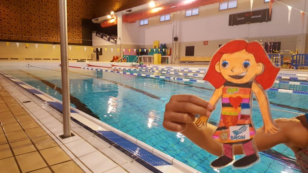 Nous emmenons même les Clément Aplati à la piscine !