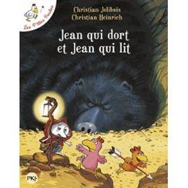 J'ai choisi l'album de Christian Jolibois Jean qui dort et Jean qui lit.