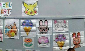 Le Pixel Art rhabille la cour de récré