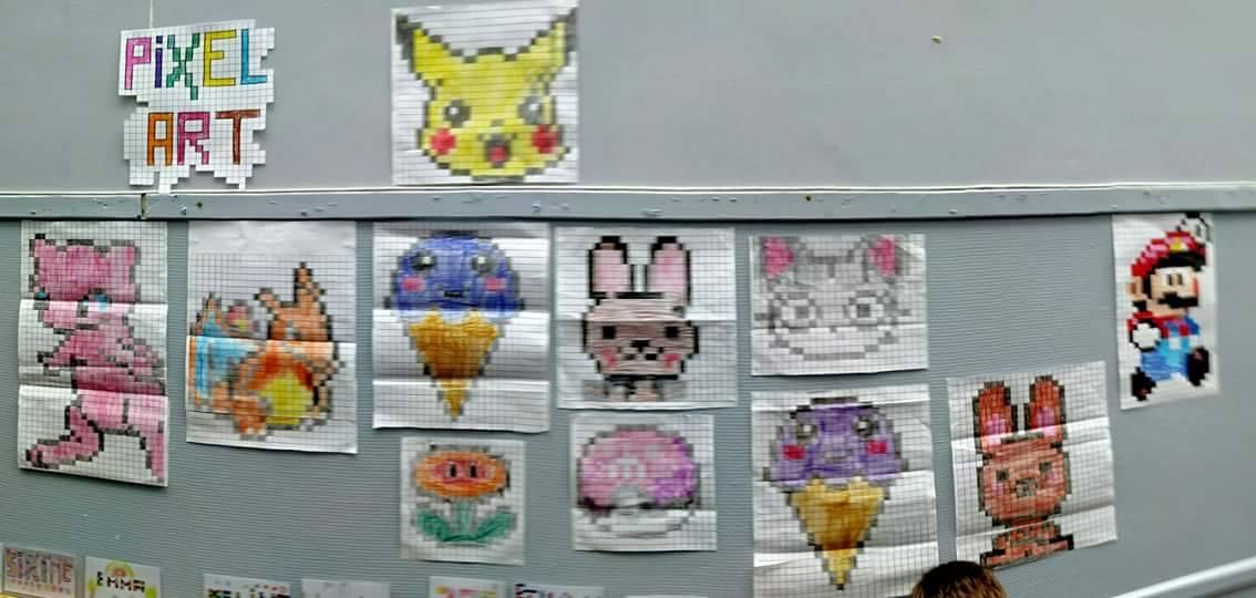 Le Pixel Art Rhabille La Cour De Récré Beneylu Pssst