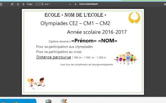Beneylu -Le kit Olympiades