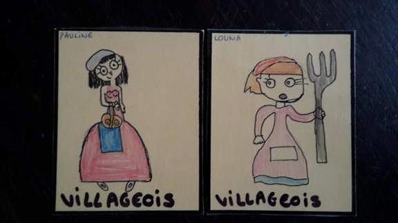 Les enfants reçoivent une carte et gardent leur identité secrète