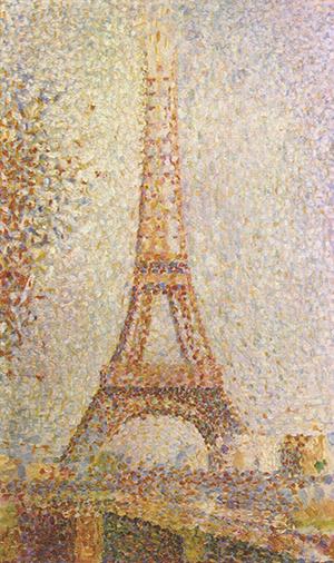Georges Seurat, La Tour Eiffel