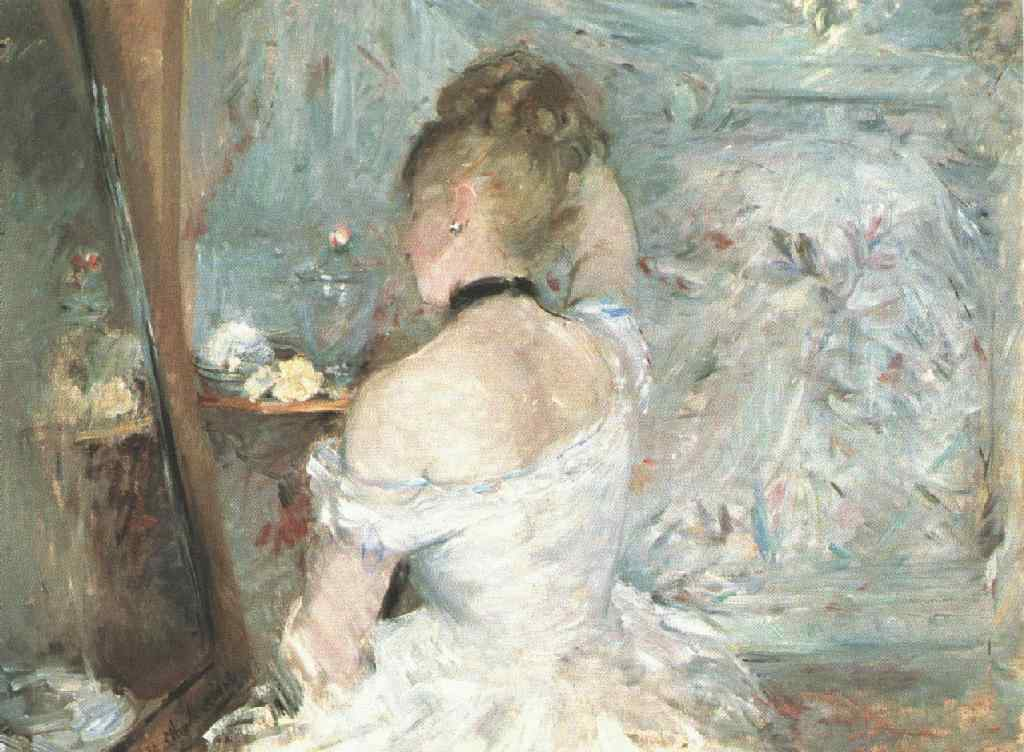 Berthe Morisot, Femme à sa toilette