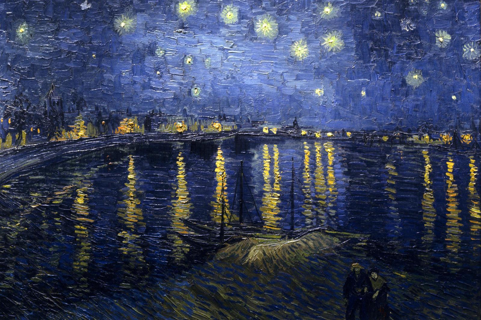 Vincent van Gogh, Nuit étoilée sur le Rhône