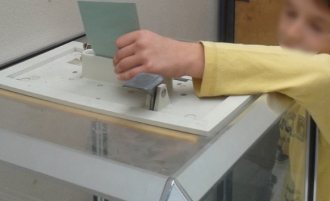Nos premières élections à l'école primaire