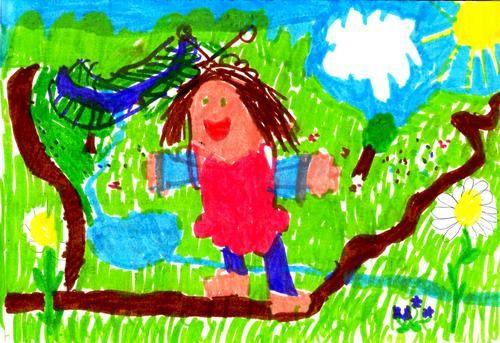 Dessin de Noémie, 6 ans