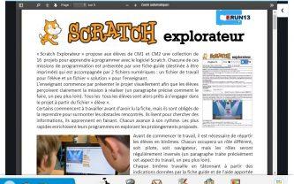 Beneylu -Kit Fiches Scratch pour coder