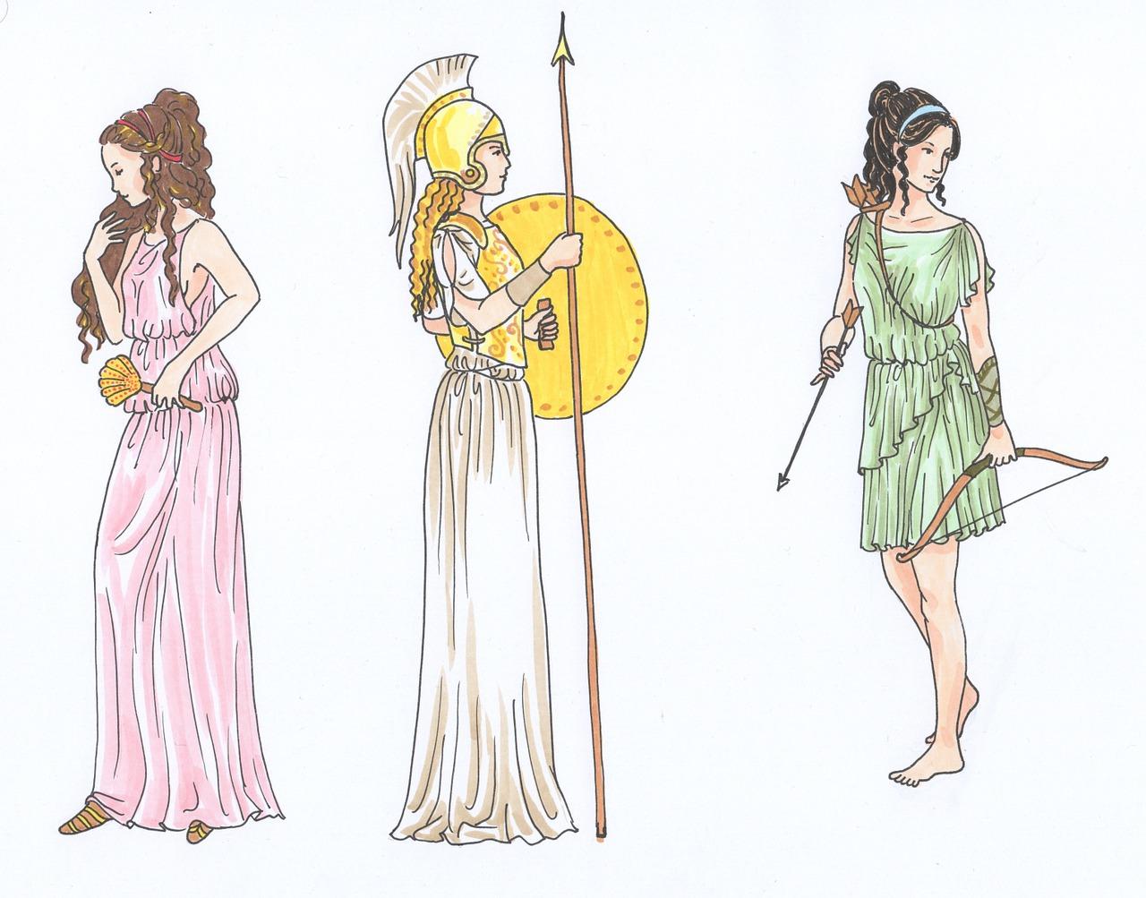 Nous avons travaillé sur la mythologie dans toutes les matières, même en sport.