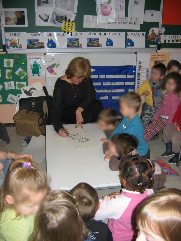 Les enfants rencontrent un auteur « vivant » ! Et oui, ça existe !