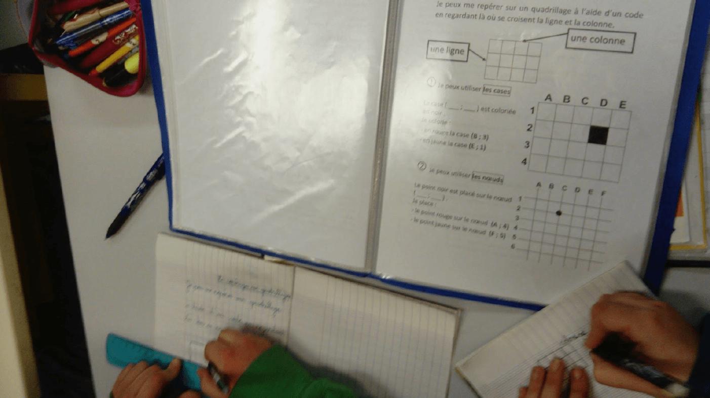 Les élèves s'entraînent en fonction de leur niveau de compétences à acquérir
