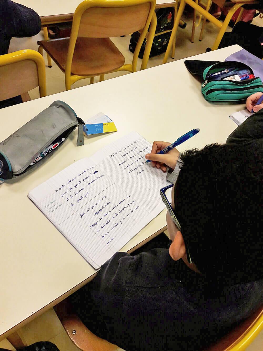 Le jogging d'écriture est un rituel qui permet aux élèves d'écrire 20 minutes tous les jours