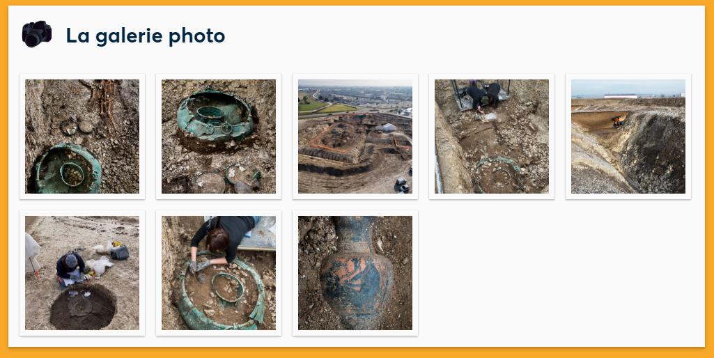 Enquête archéologique à Lavau présente une vraie fouille archéologique et des photos du chantier.