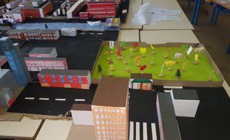 Des maquettes de la ville engéo