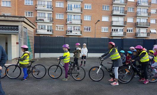 En avant le permis cycliste en primaire !